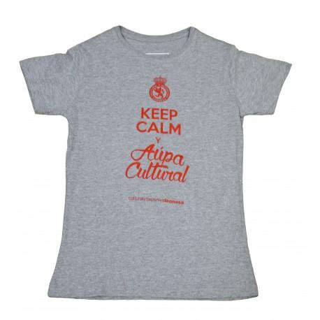 Camiseta-Keep calm